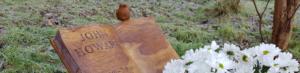 Oak memorial by Graham.